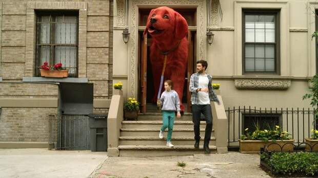 Новый трейлер к фильму «Большой красный пес Клиффорд»