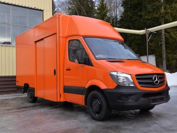 «Мосдизайнмаш» выпустил фургоны на шасси Mercedes-Benz Sprinter