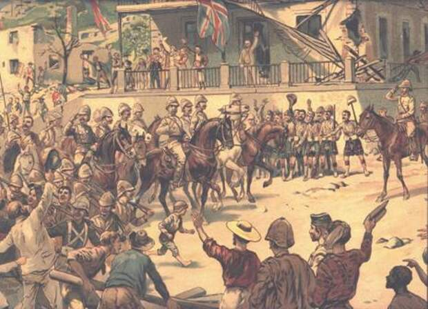 Англо-бурская война 1899—1902 гг.- 5 часть