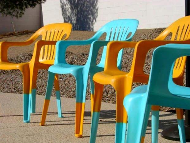 Обновление пластиковых стульев. | Фото: SanctuaryVF.