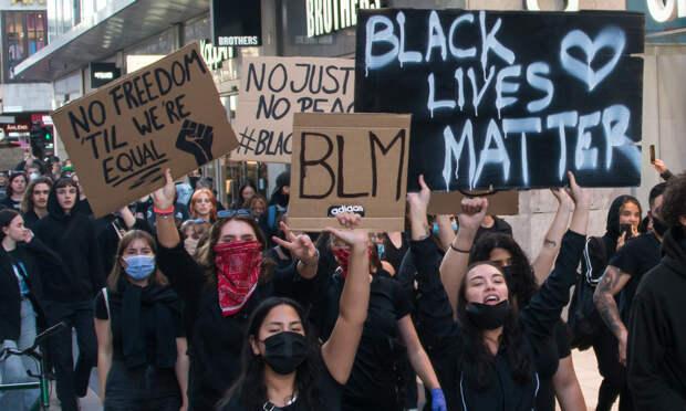 BLM-демоснтрация в Стокгольме. Фото: Frankie Fouganthin (CC BY-SA 4.0)