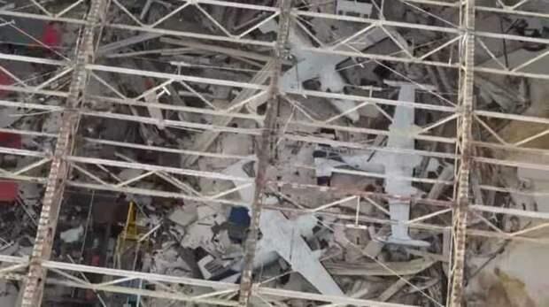 В результате землетрясения в Японии из строя вышли истребители ВВС США