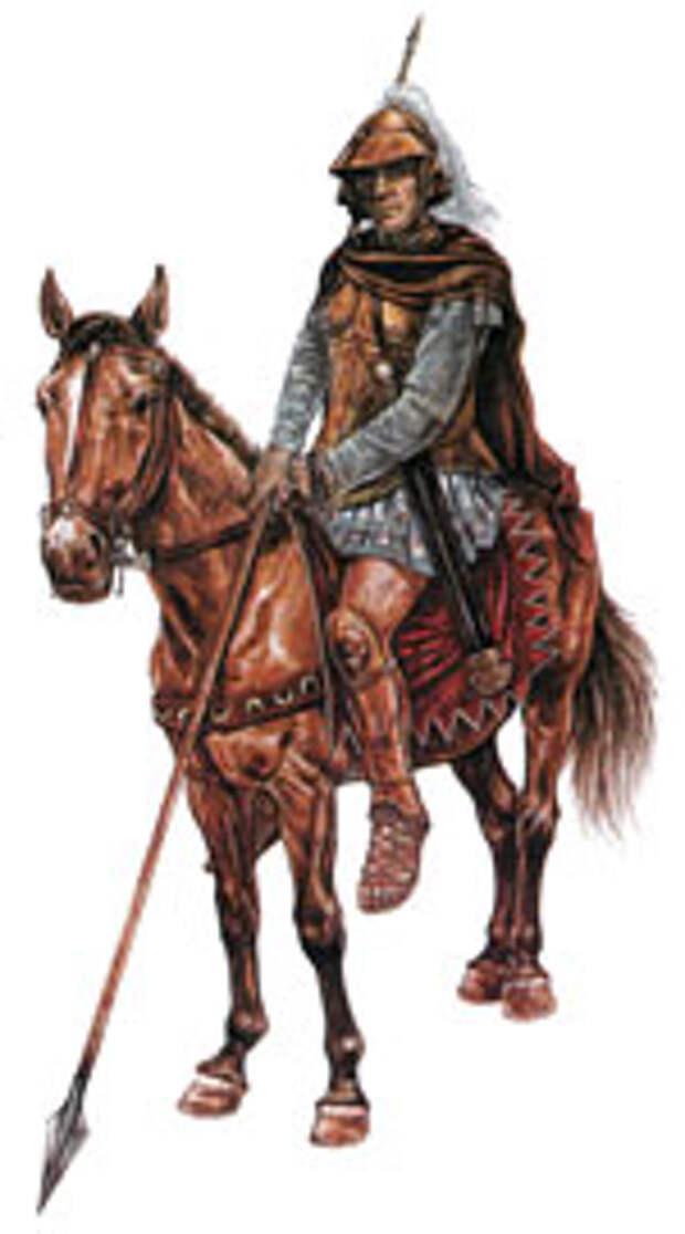 Кавалерист личной гвардии Александра Македонского - гетайр