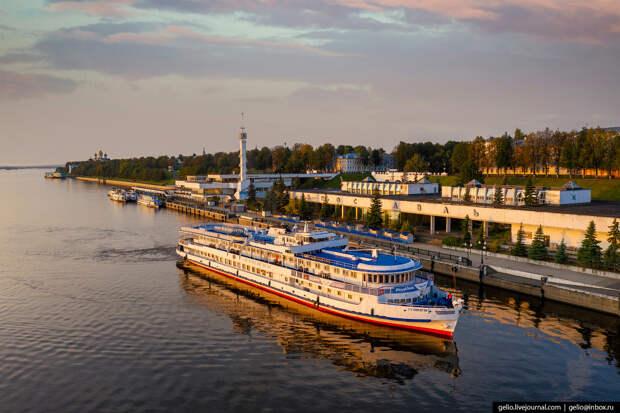Ярославль с высоты — столица Золотого кольца России