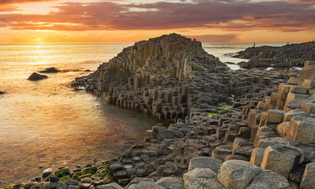 Тропа гигантов — побережье Козвэй Кост, Северная Ирландия