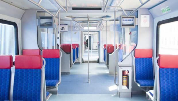 Поезда МЦД дезинфицируют три раза в день