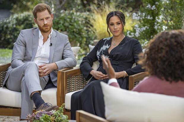 Интервью принца Гарри и Меган Маркл