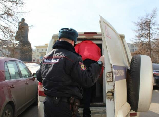 задержание, митинг в Архангельске, против полигона Шиес(2019)|Фото: vk.com/pnparh