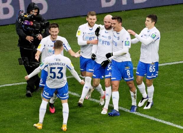 «Динамо» — 6-й клуб, одержавший 200 побед в РПЛ