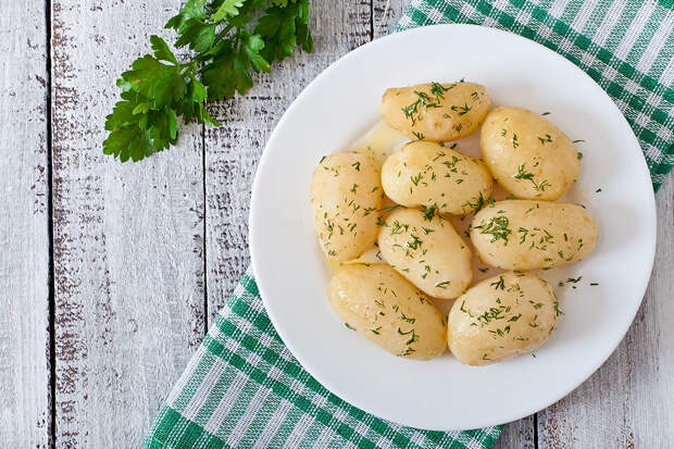Учёные доказали пользу картофеля для гипертоников