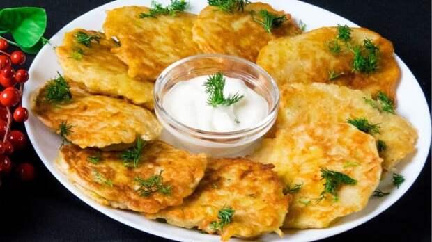 Белорусские драники с луком. Сытное блюдо из картошки 2