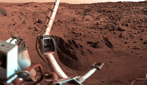 «Викинги» не нашли жизни на Марсе, потому что предварительно убили её