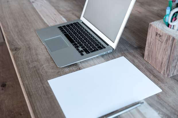 Домашний Офис, Ноутбук, Запуск, Веб-Дизайн, Blogger