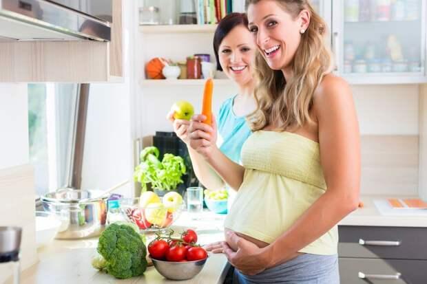 Часто дети любят именно те продукты, которые мама ела во время беременности.