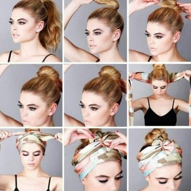 Способ носить платок на голове