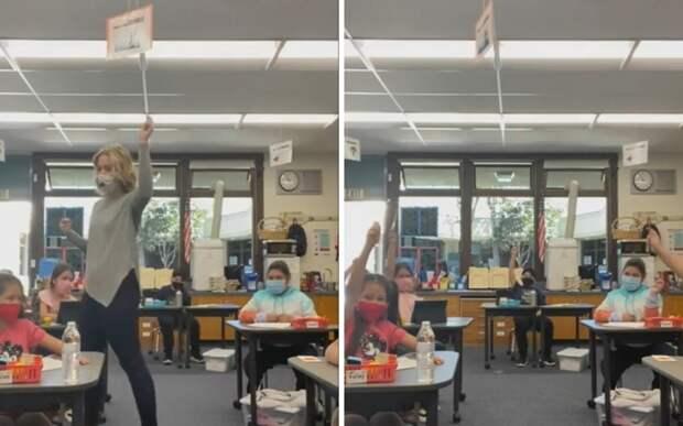 Учительница придумала оригинальный способ помочь детям стать увереннее