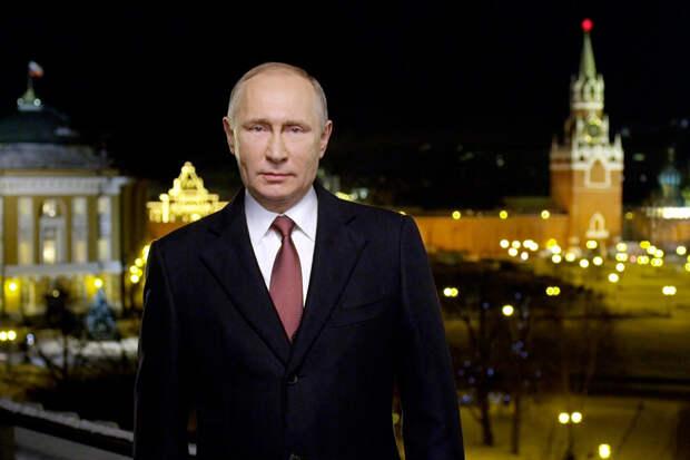 Путин выступил с новогодним обращением