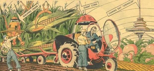 Как в 1958 году представляли технический прогресс в начале XXI века