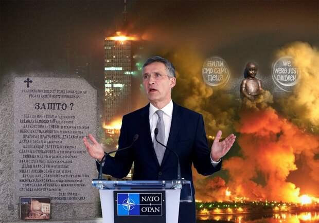 НАТО призывает Сербию «понять и простить» уничтоженные предприятия и сотни убитых детей