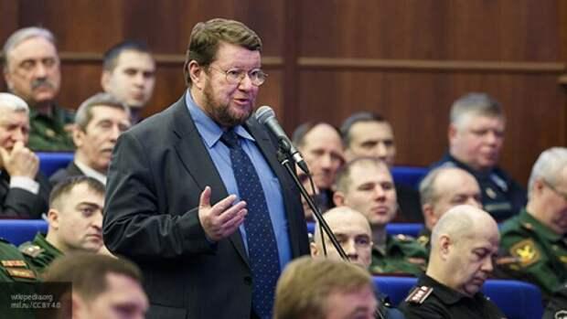 Сатановский рассказал, как Запад ведет идеологическую войну против России