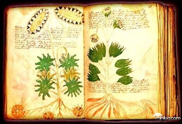 Одна из страниц манускриптов Дунстана.