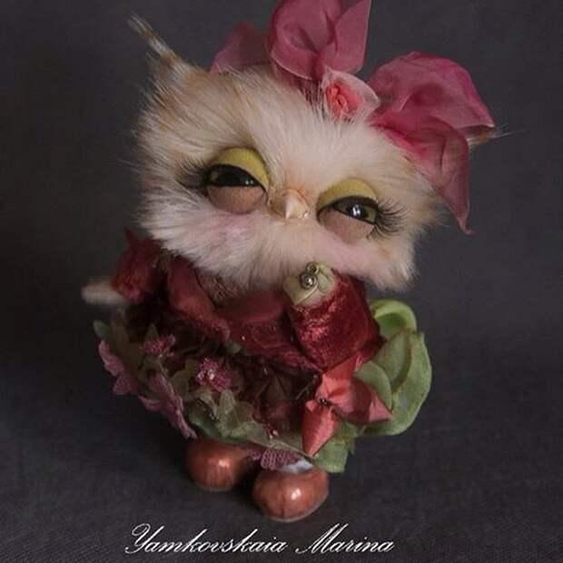 Маленькие совята от Ямковской Марины Ямковская Марина, игрушка, сова