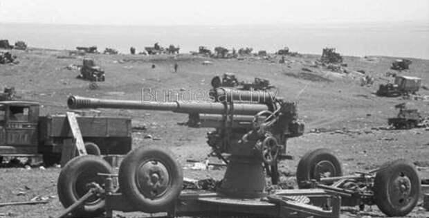 Брошенная советская техника, Крым, 1942г.