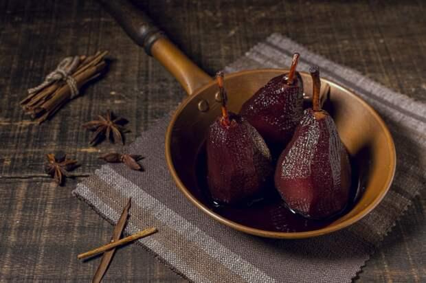 Ароматный, винный десерт. \ Фото: segodnya.ua.