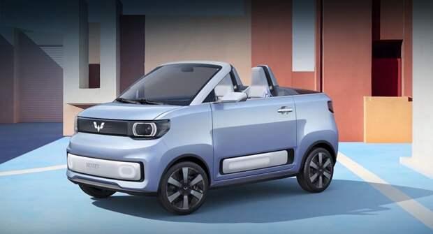 Электромобиль Wuling Mini EV Cabrio будет выпускаться серийно