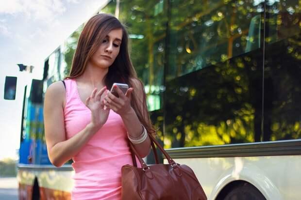 Женщина, Смартфон, В Чате, Девочка, Пешеходный, Телефон