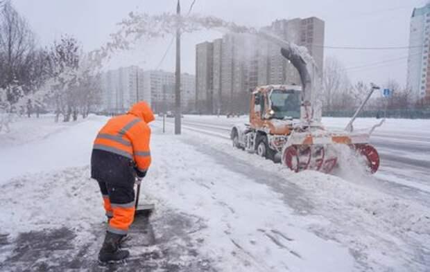 Москвичей предупредили о снеге в выходные