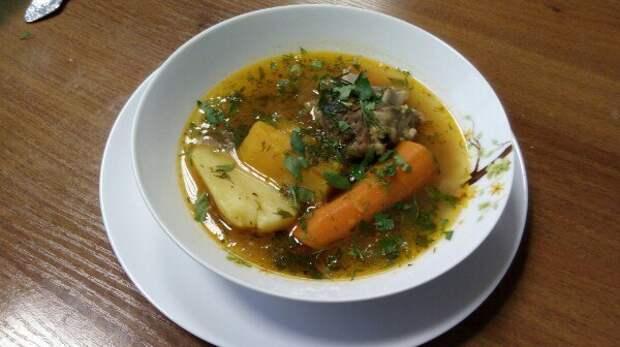 Шурпа. Как бы узбекская, но не жирная. кулинария, Баранина, Шурпа, мясо, супчик на семью, овощи, длиннопост