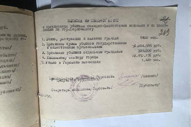 ФСБ представила материалы вынесенного 75 лет назад в Киеве приговора нацистам