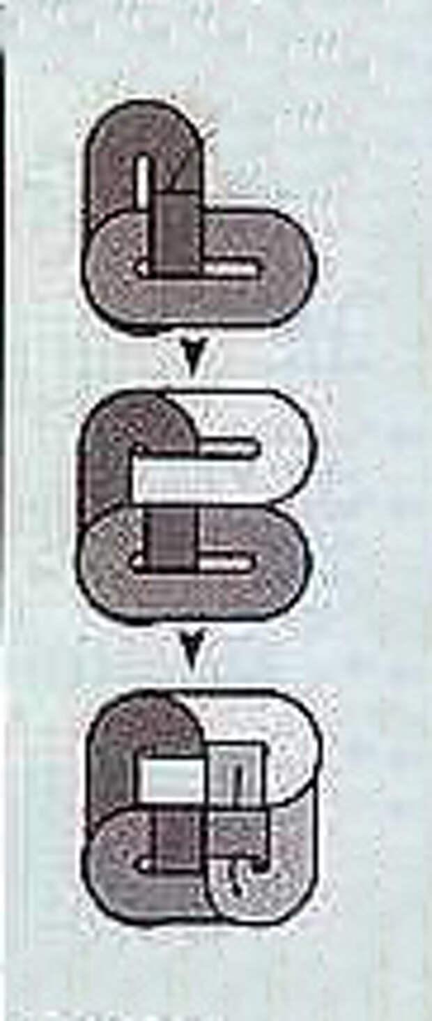 цветной вязаный коврик схема7