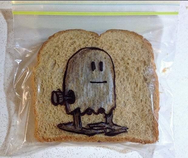 Бутерброды в школу с улыбкой