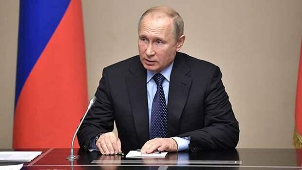 Путин провел встречу с экс-председателем госсовета Дагестана
