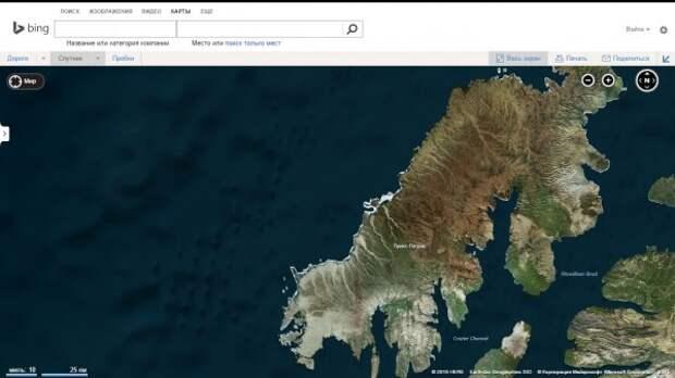 Подводные сооружения Гипербореи возле Новой Земли?