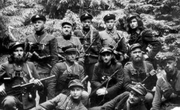 «Лесные братья» из Прибалтики