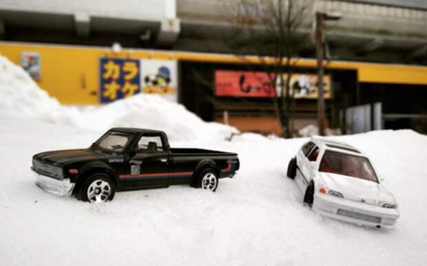 Снегопад в Японии: на дорогах гибнут автомобилисты
