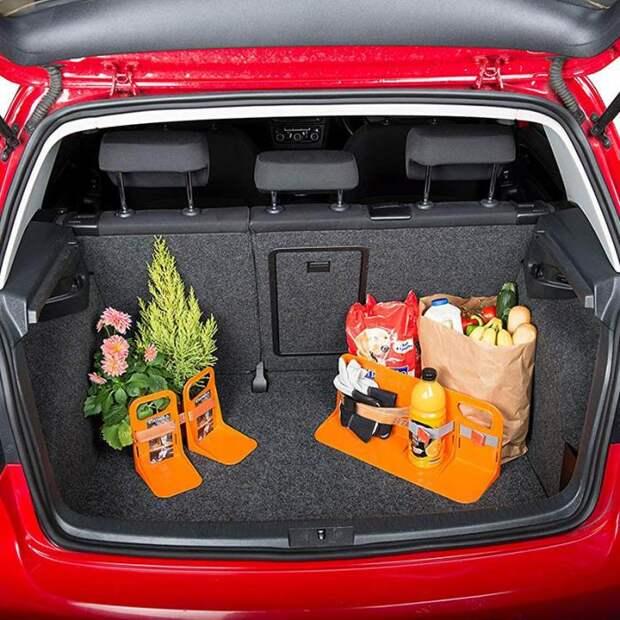 Фиксирующие L-стойки эффективно поддерживают порядок в багажнике. /Фото: ae01.alicdn.com