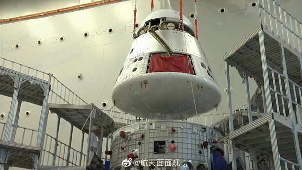 Китайцы собрали пилотируемый космический корабль нового поколения