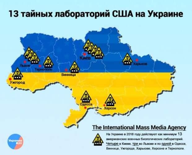 Биолаборатории Пентагона наУкраине— «это другое»