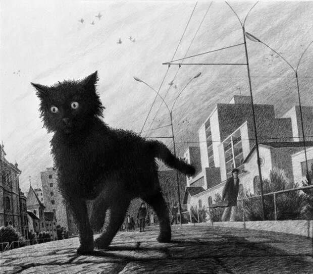 Черный кот (Юрий Михайлов)