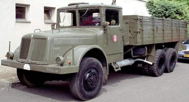 Грузовики-иномарки в СССР