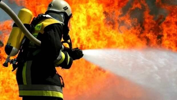 В Крыму вместе с квартирой чуть не сгорел мужчина