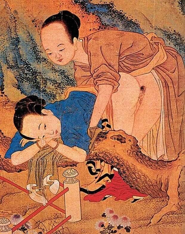 Секс вДревнем Китае: «весенние картинки», иерархия любовниц истрогие табу