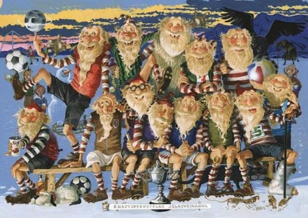 Деды Морозы тролльского происхождения