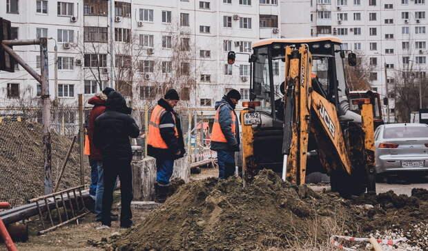Из-за коммунальной аварии центр Орска превратился в каток