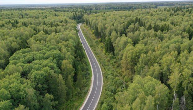 Более 2,4 тыс км региональных и муниципальных дорог отремонтировали в Подмосковье за сезон
