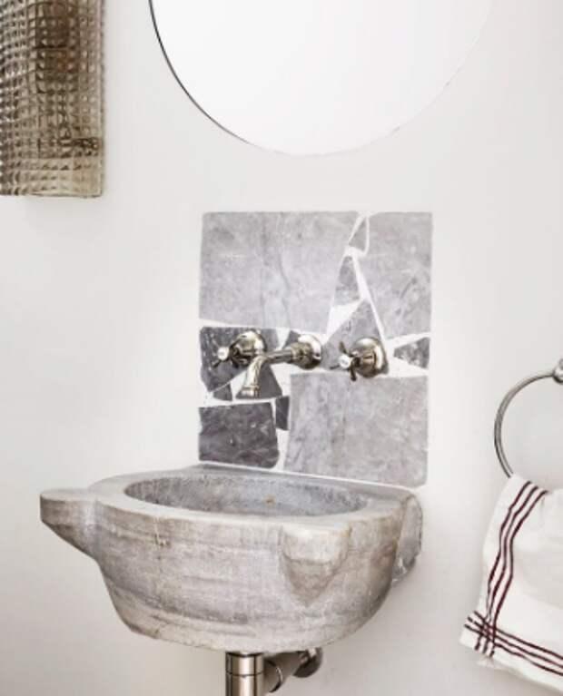 Дизайнерские решения для визуализации пространства в ванной комнаты